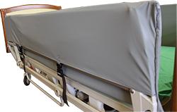housse de protection de barrière lit médicalisé